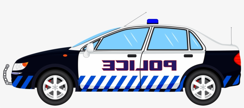 Cop Car Clipart.