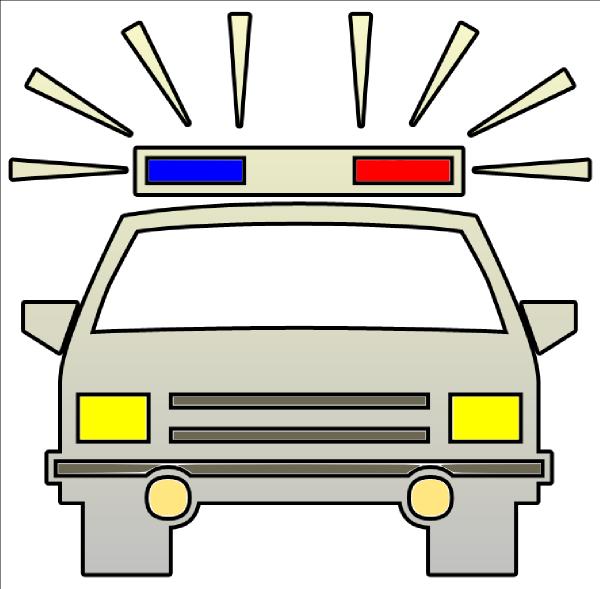 Police Car Lights Clipart.