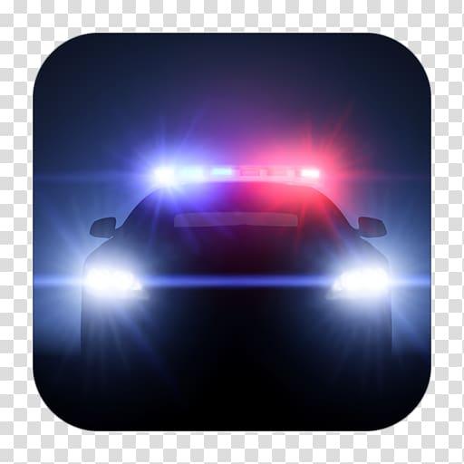 Emergency vehicle lighting Siren Police car, light.