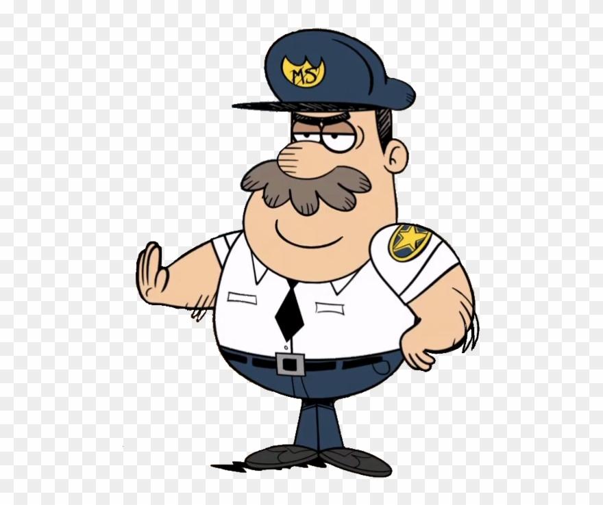 Mall Cop Captain.