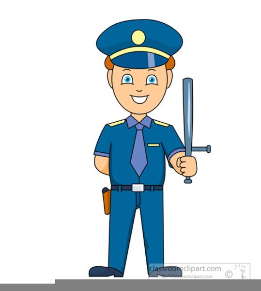 Free Traffic Cop Clipart.