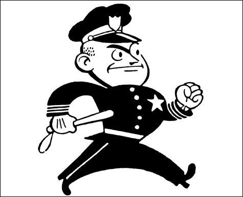Enforcement clipart #2