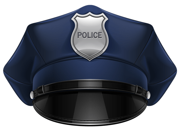 Police Hat Clipart transparent PNG.