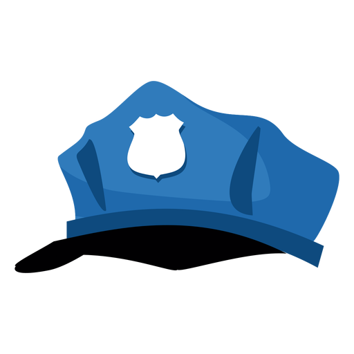 Police officer Hat Cartoon Cap.