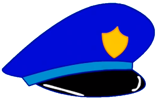 Police Hat Clipart.