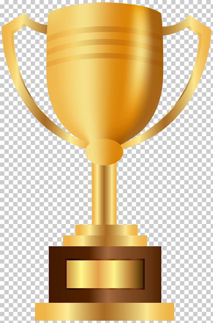 Premio trofeo premio, copa de oro PNG Clipart.
