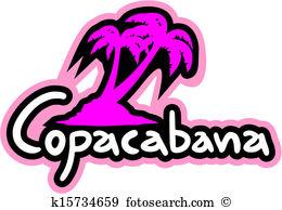 Copacabana Clip Art Vector Graphics. 145 copacabana EPS clipart.