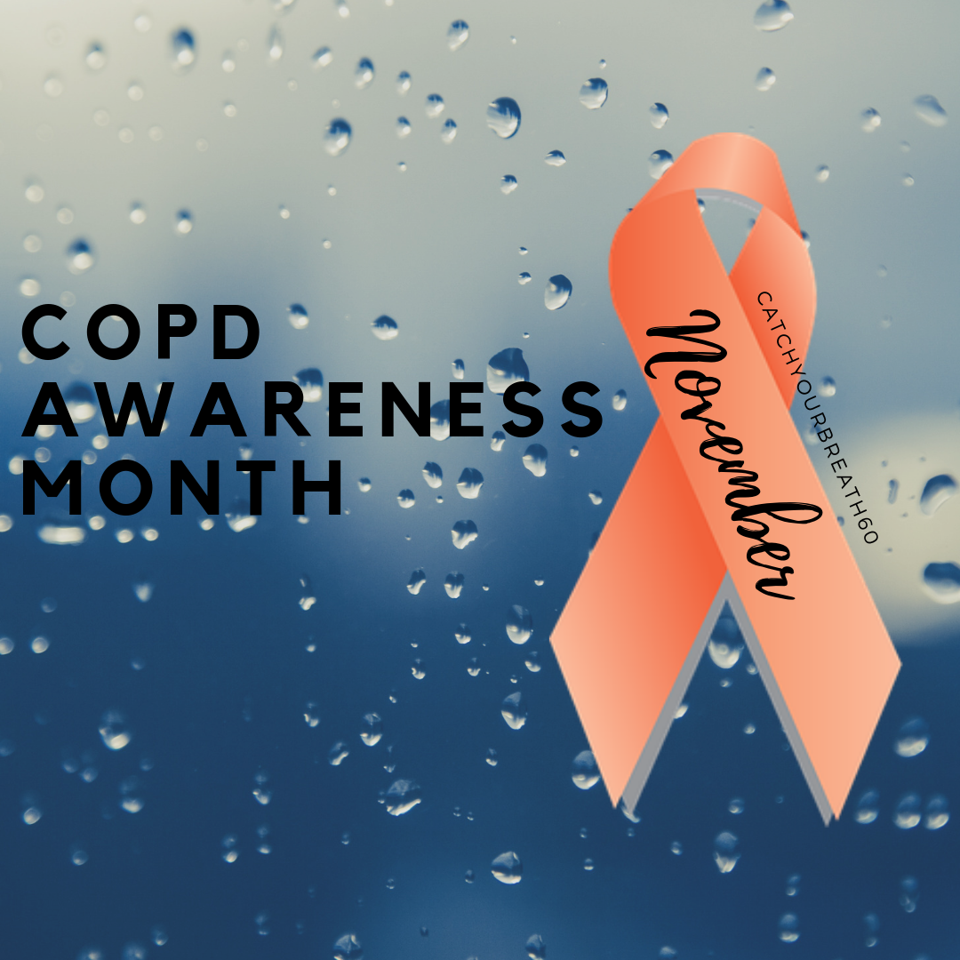 Pin on Ribbons for COPD.
