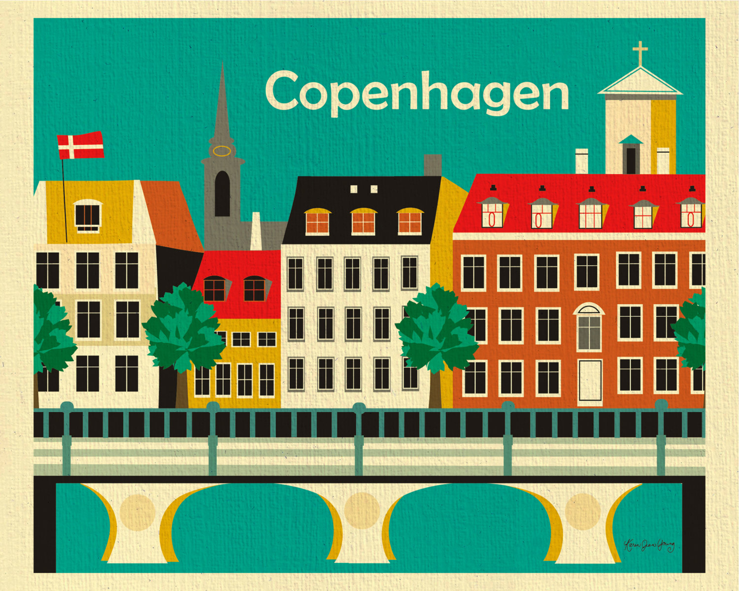 Clipart city guide copenhagen.