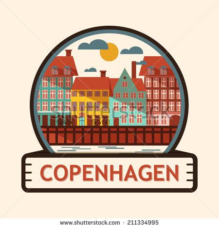 Copenhagen clipart.