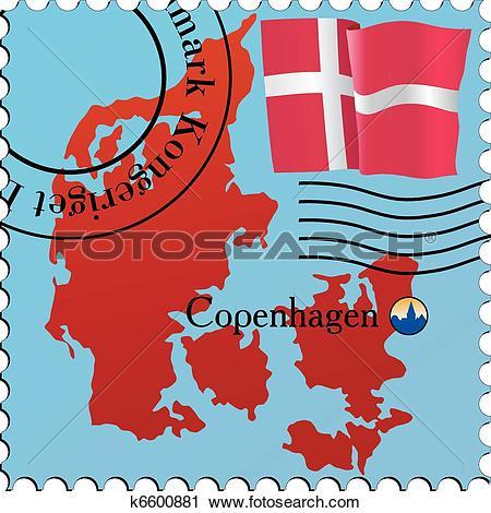 Clipart of Copenhagen.