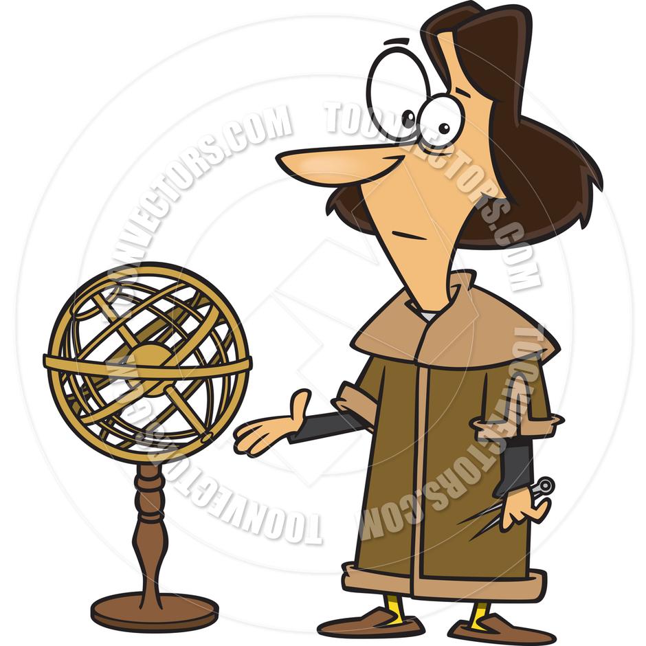 Nicolaus Copernicus Clip Art.