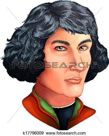 Clip Art of Nicolaus Copernicus k17796009.