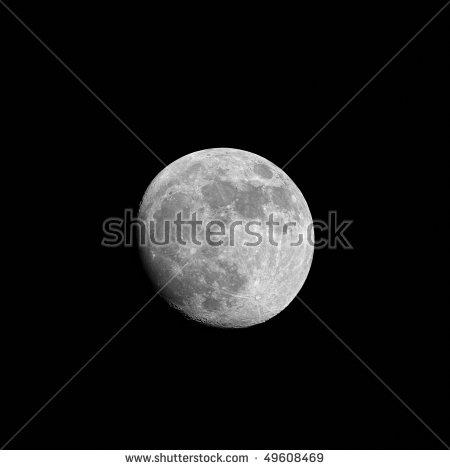 Moon Model Stock Illustration 47055772.