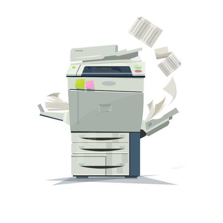 2,136 Photocopier Stock Illustrations, Cliparts And Royalty Free.