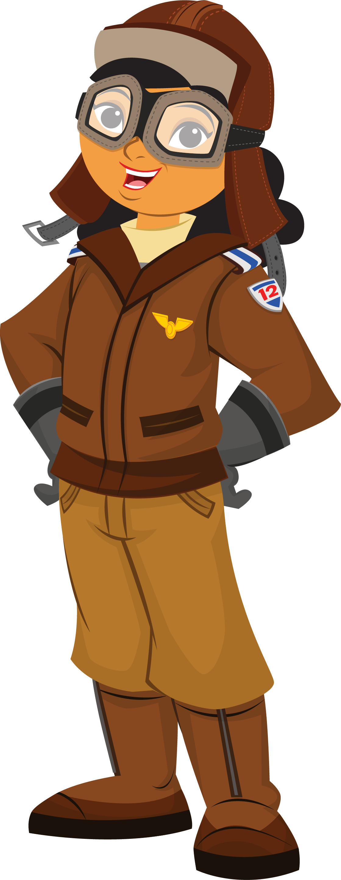 Clipart pilot.