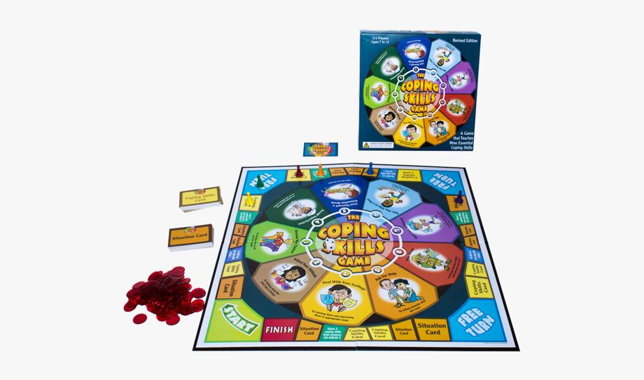 Coping Skills Board Game #2067453.