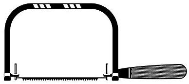 Coping Saw Carpenter Work Hand Tool Built Carpentry Carving.