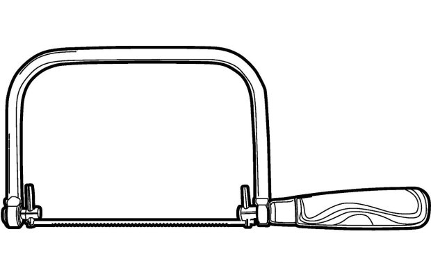 Coping Saw Clipart.