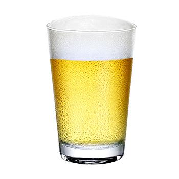 O copo ideal para servir os diferentes tipos de cerveja.