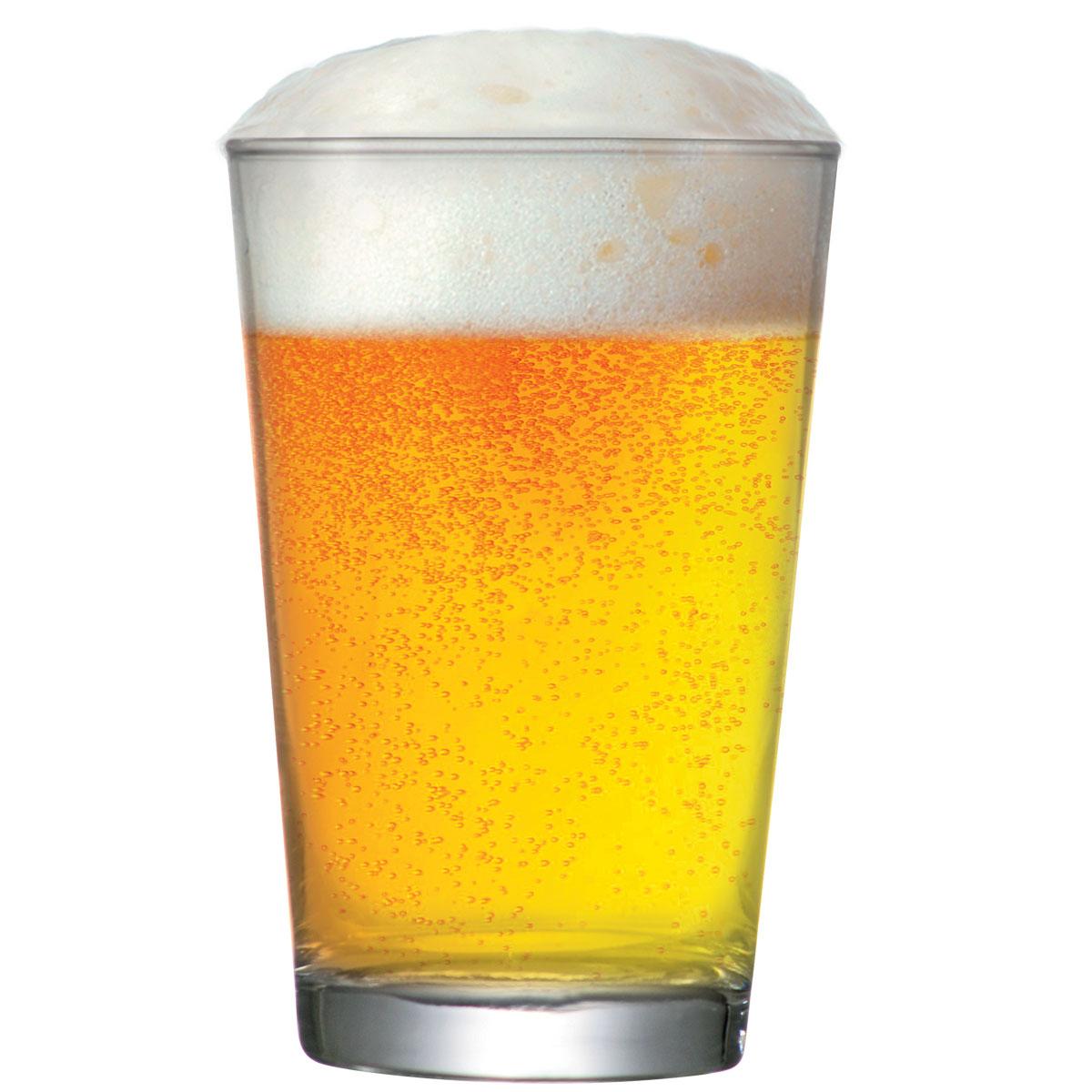 Copo Cerveja Caldereta M Vidro de 350ml 24 Peças.