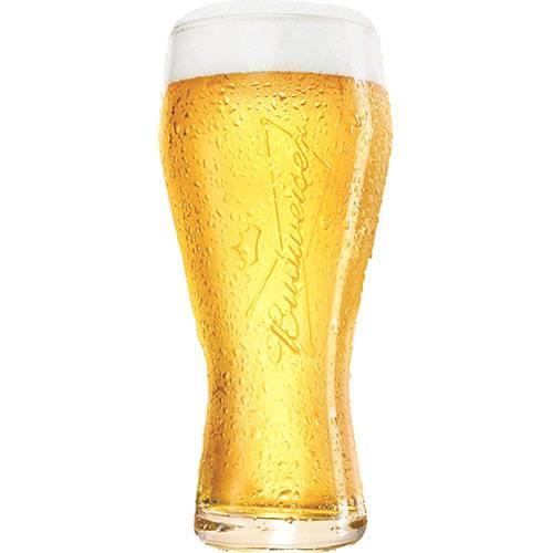 Copo para Cerveja Budweiser 400ml.