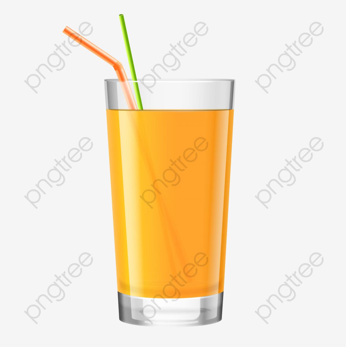 O Copo De Suco De Frutas, Suco De Frutas, Tubo De Sucção, Bebidas.