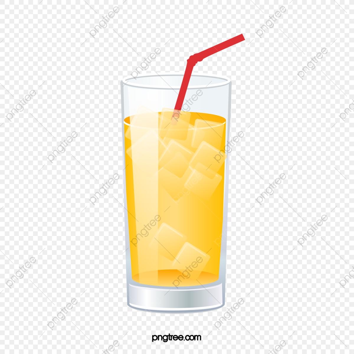 Um Copo De Suco De Frutas, Um Suco De Frutas, O Suco De Laranja, A.