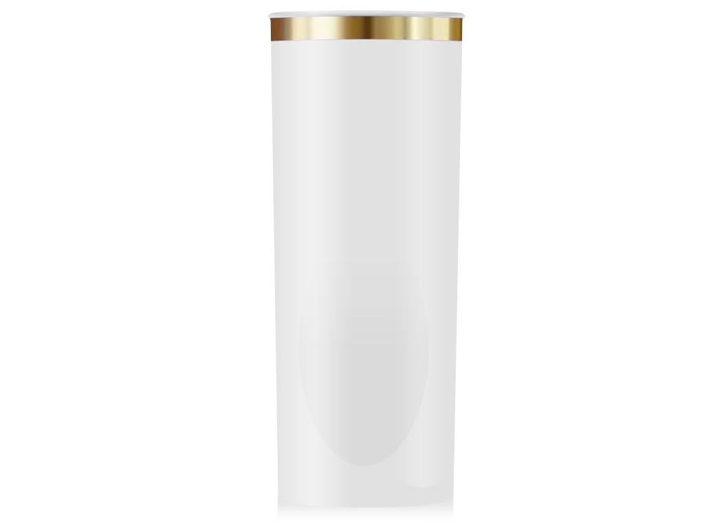 Copo Long Drink Personalizado Borda Dourada Várias Cores 350ml.
