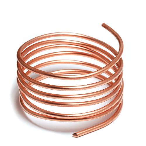 Copper wire clipart.
