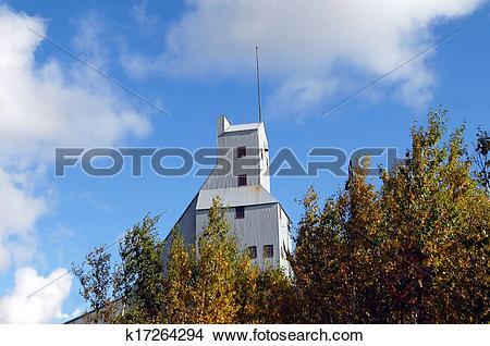 Stock Photo of Fall in Copper Country k17264294.