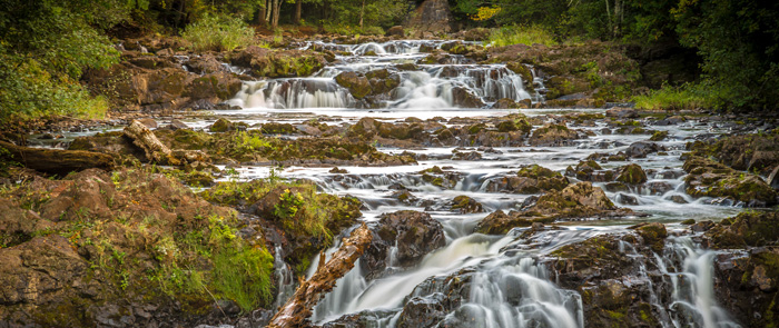 Copper Falls State Park.