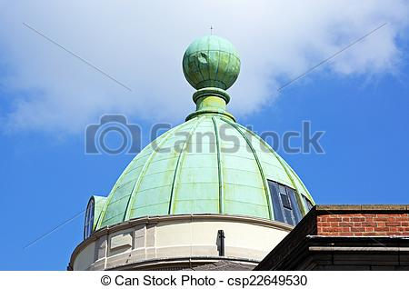 Stock Photos of Copper dome, Chester..