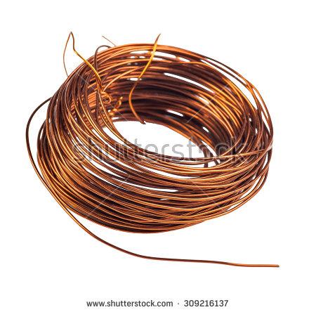 Coiled Copper Wire Clip Art Photo Album.