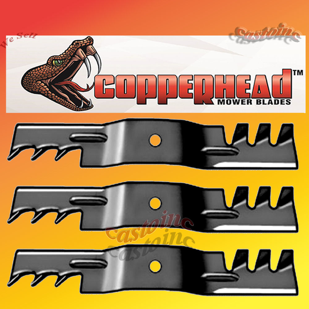 3 fits Murray #'s 92117E701 H.D.Copperhead Multching Mower.