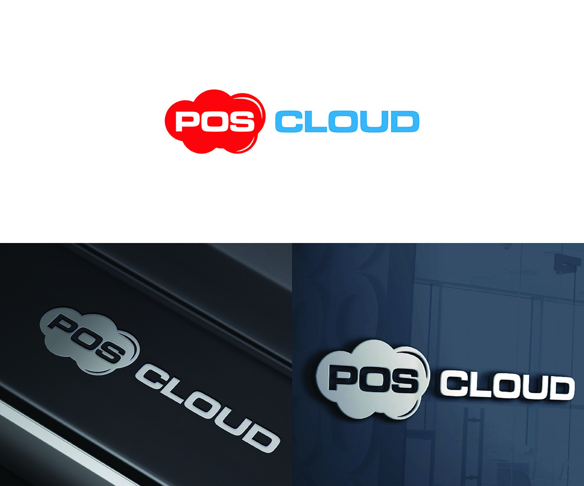 Elegant, Playful Logo Design for Pos Cloud powered by COPS.