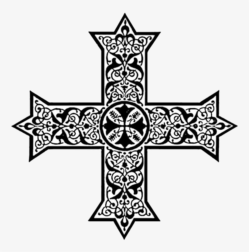 Coptic Crosses In Liturgical Colors Christian Clip.