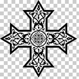 103 cross Coptic PNG cliparts for free download.
