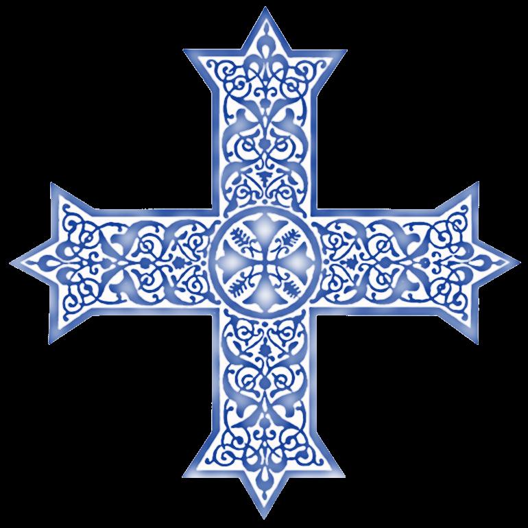 Coptic Crosses in Variegated Colors.