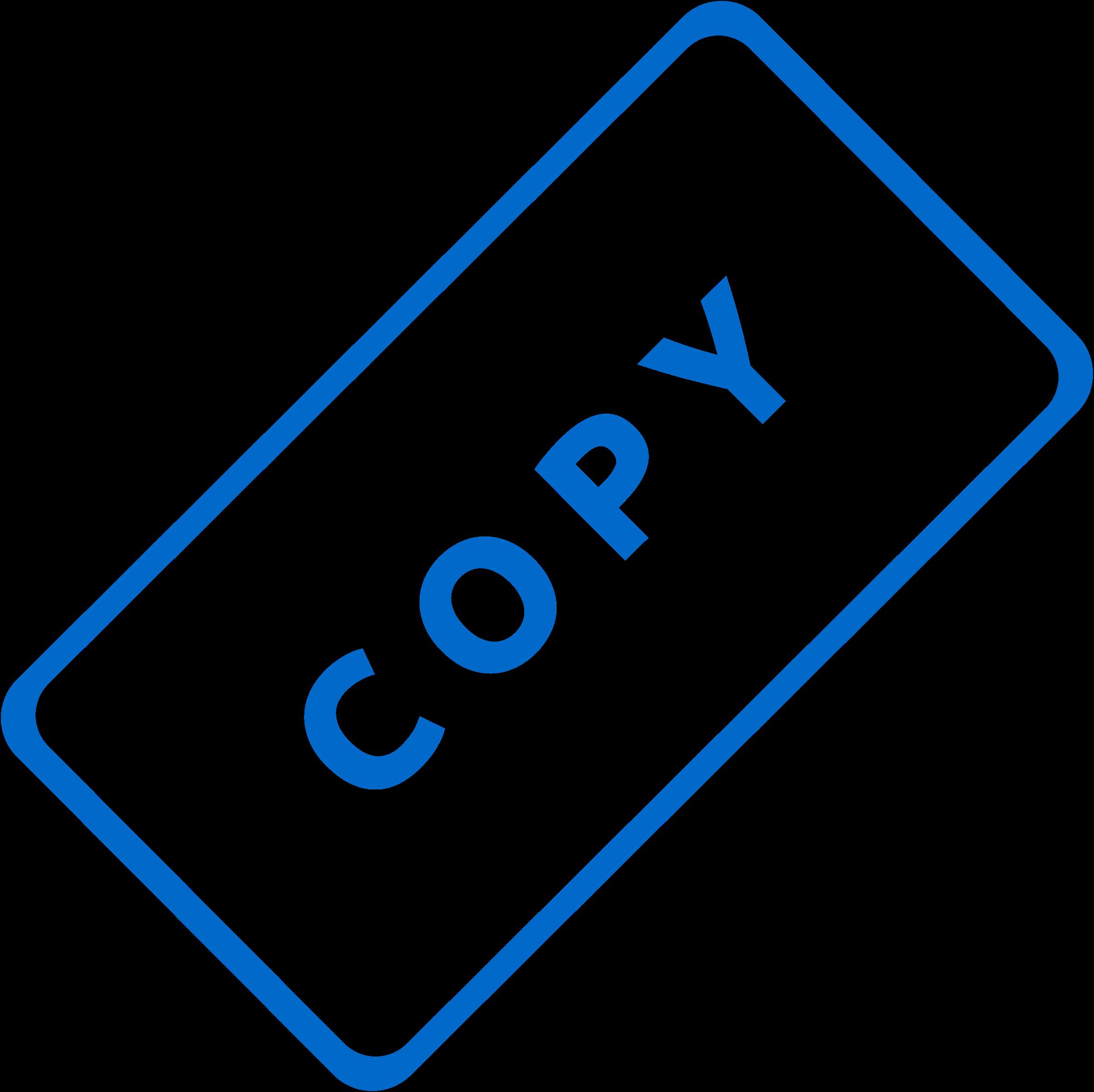 Copy.