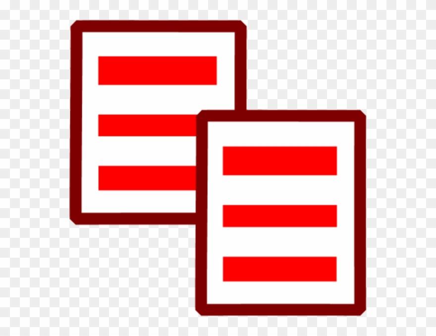 Copy Paste Icon Vector Clip Art.