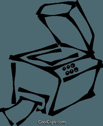 Copy Machine Cliparts.
