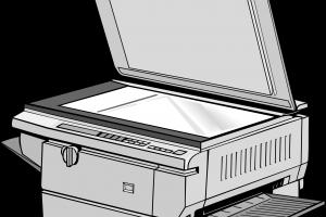 Copy machine clipart 1 » Clipart Station.