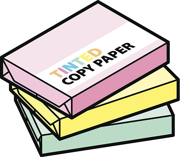 Ream Of Copy Paper Illustrations, Royalty.