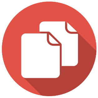 Clone, copy, document, duplicate, copies, file icon #40237.