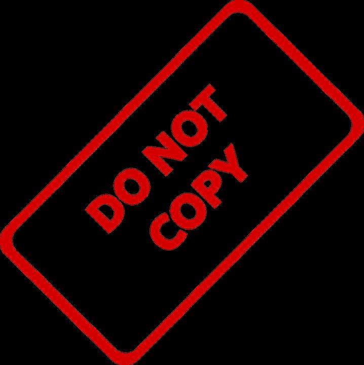 Do Not Copy Business.