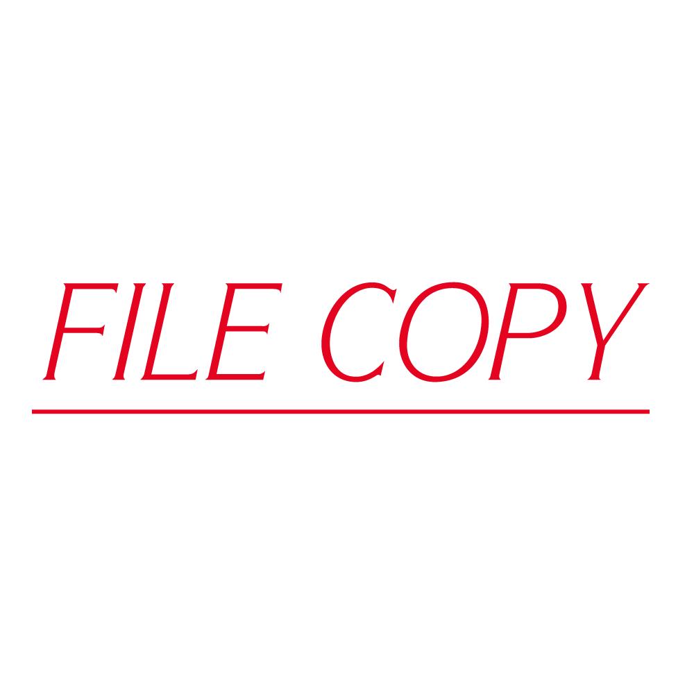 OA File Copy Stamp.