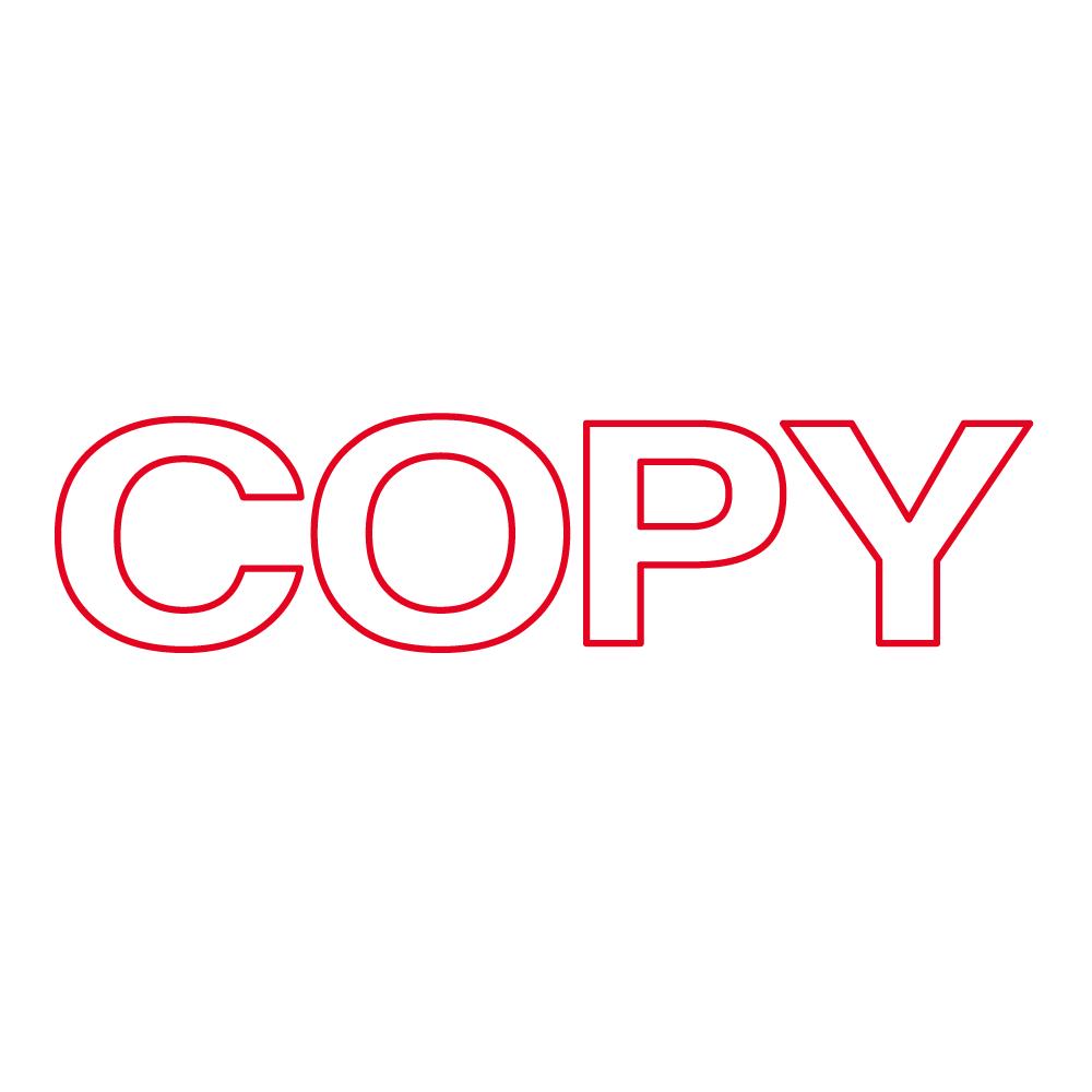 OA Copy Stamp.