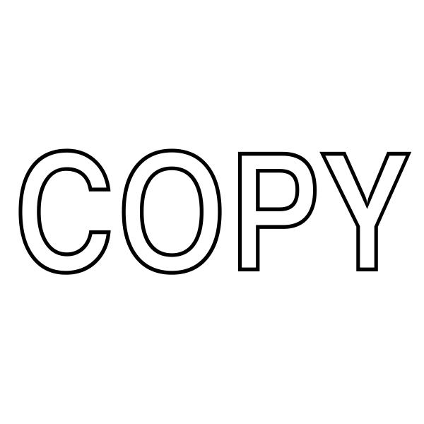 Copy Stock Stamp.