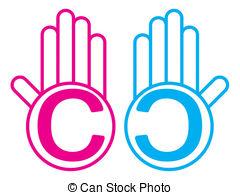 Copyleft Clipart Vector Graphics. 7 Copyleft EPS clip art vector.